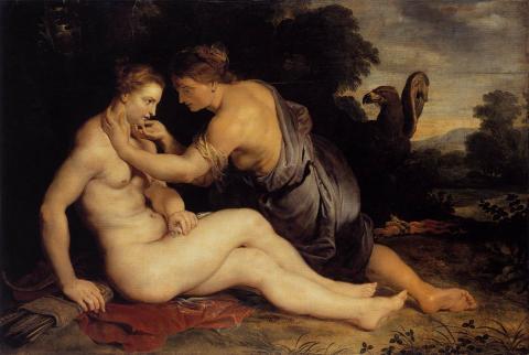 """Jupiter and Callisto"" by Peter Paul Rubens 1613"
